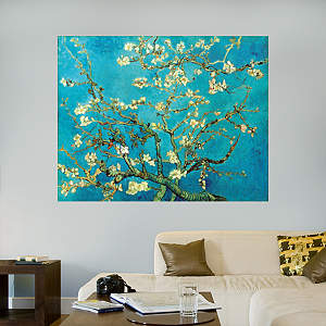 Branch of an Almond Tree in Blossom by Vincent van Gogh Fathead Wall Decal